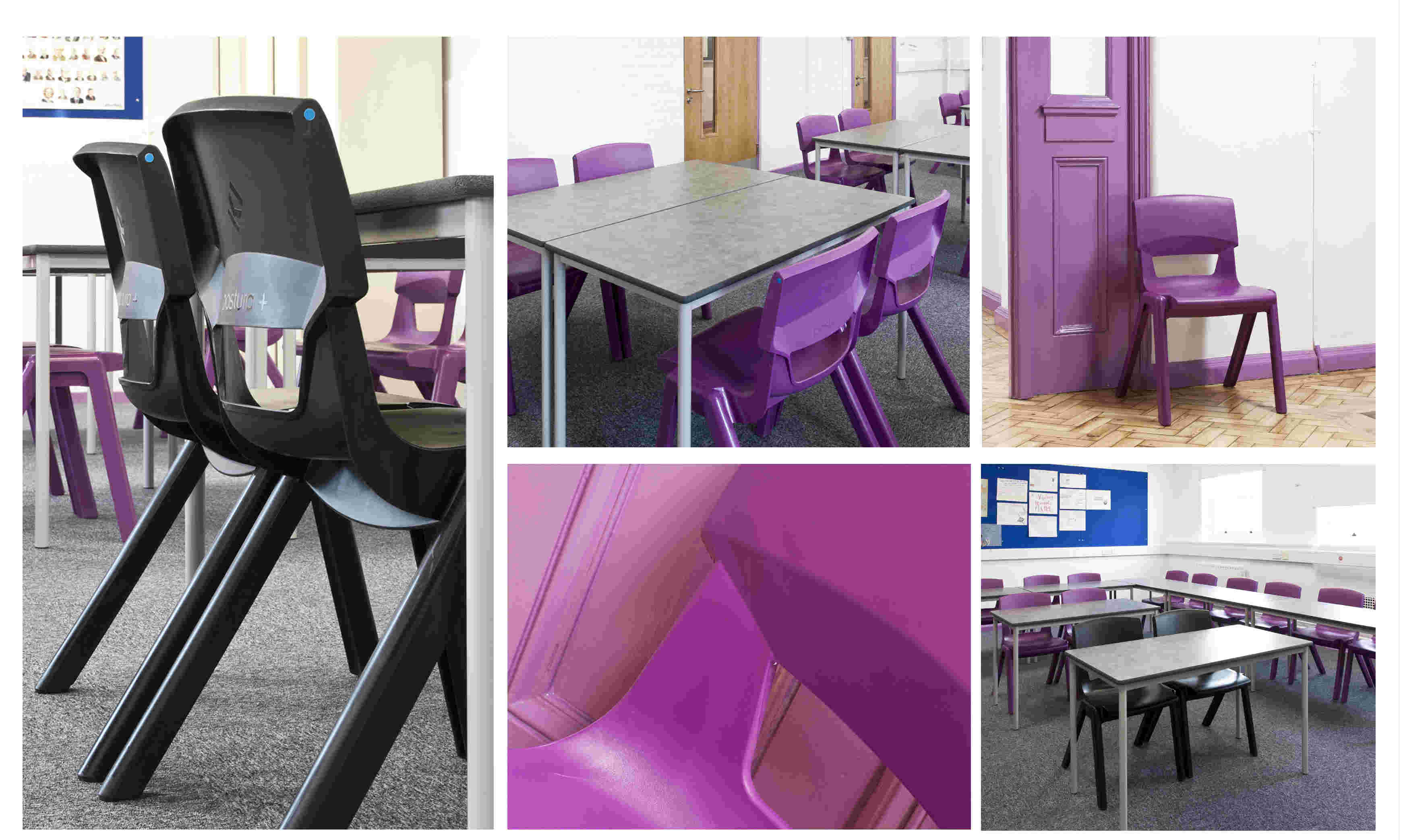 KI Postura+ chairs selected for New City College's colour co-ordinated refurbishment