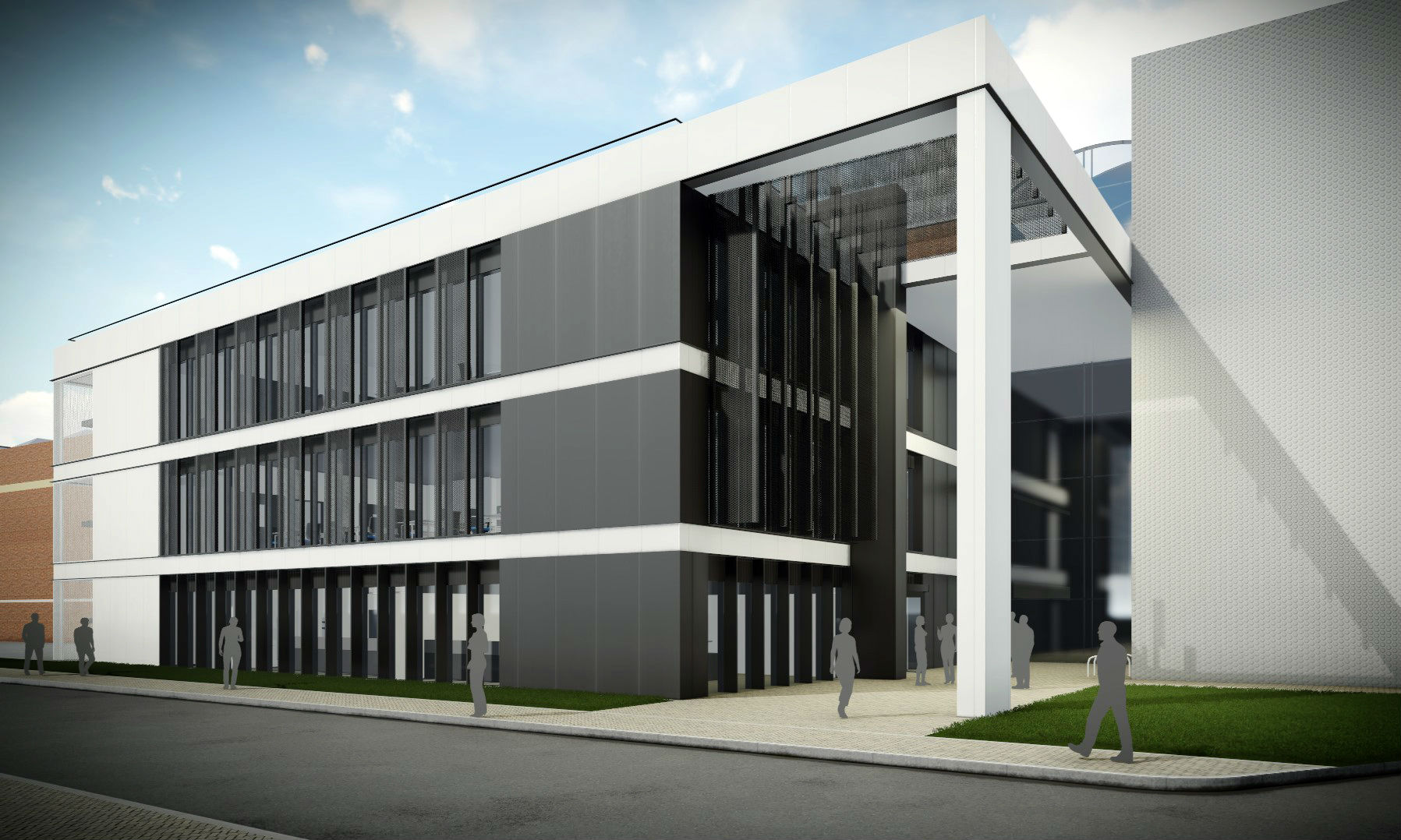 Industrial-scale research & testing facilities for Cranfield University