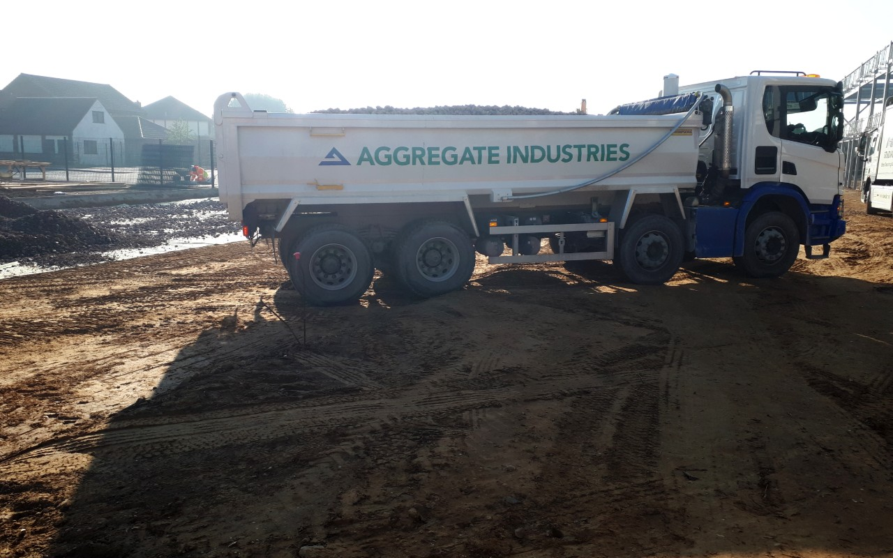 Aggregate Industries lays a solid foundation for new special needs school