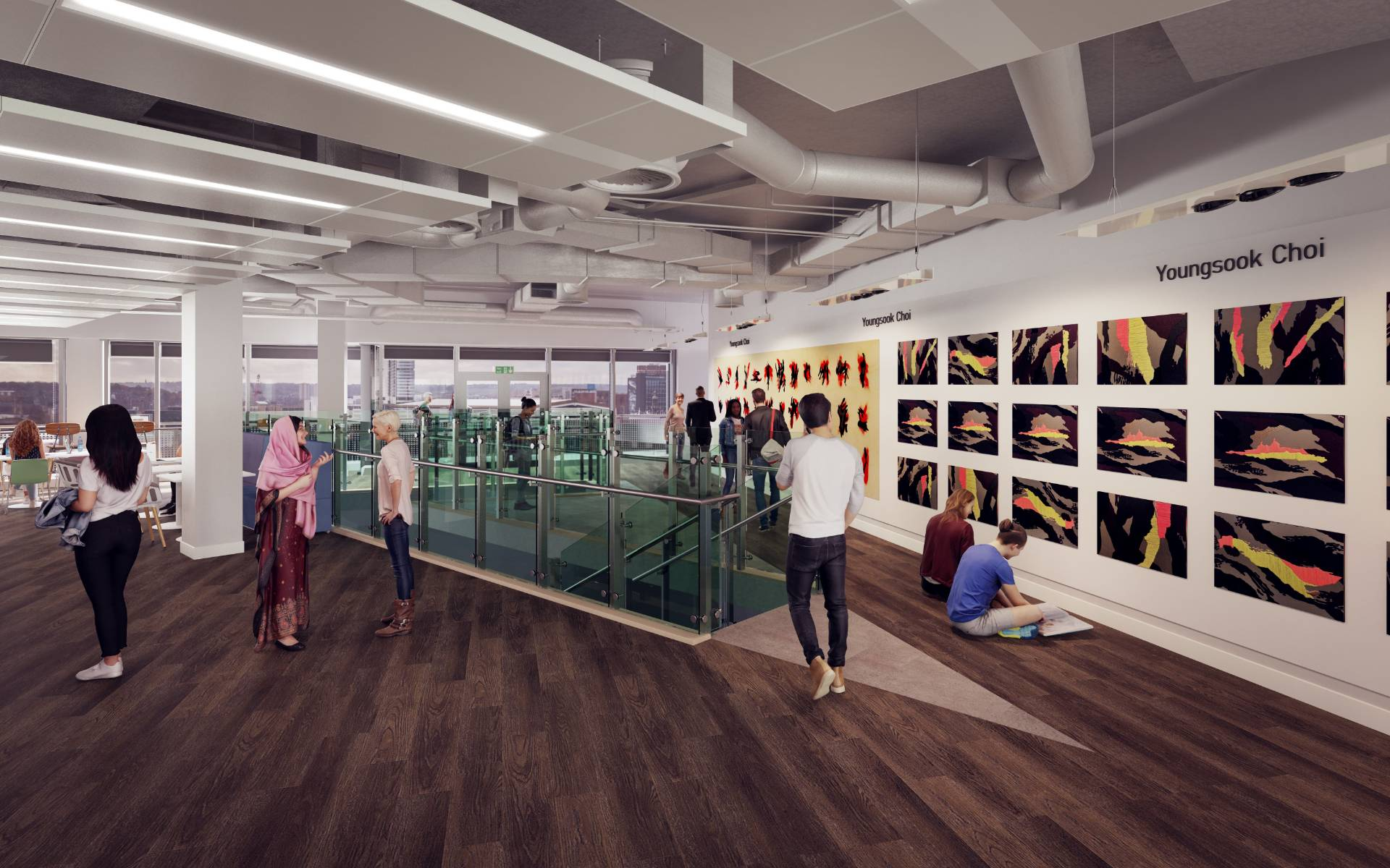 First look: £60m Quarry Hill campus interior revealed