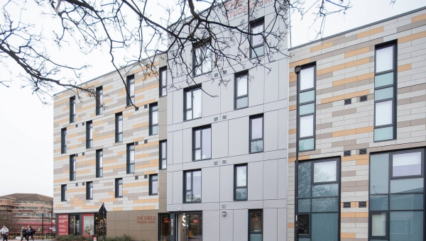 Technal specified for Newcastle student living development