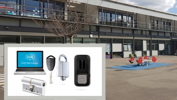 From 40 keys per employee to a single, programmable, battery-powered key, thanks to CLIQ® wireless access control