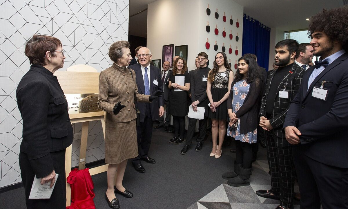 HRH The Princess Royal opens flagship student development in Stratford
