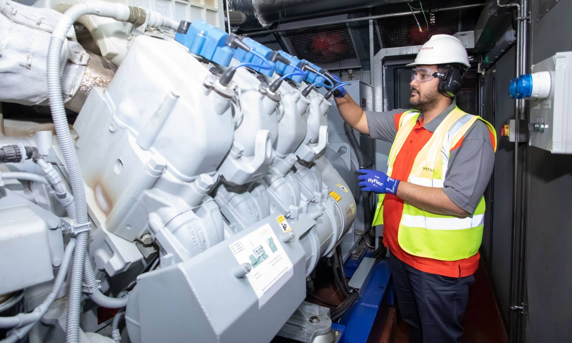 Veolia CHP delivers total fitness