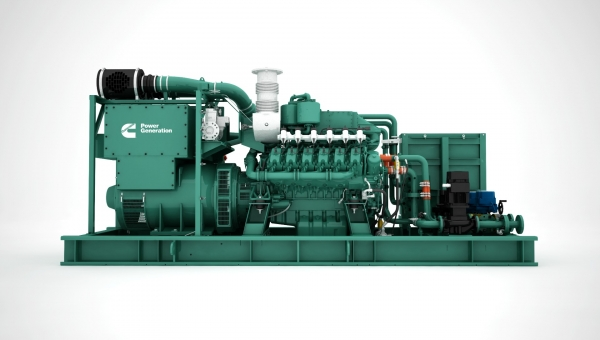 Cummins scales up the gas power game with the new C25G natural gas generator series