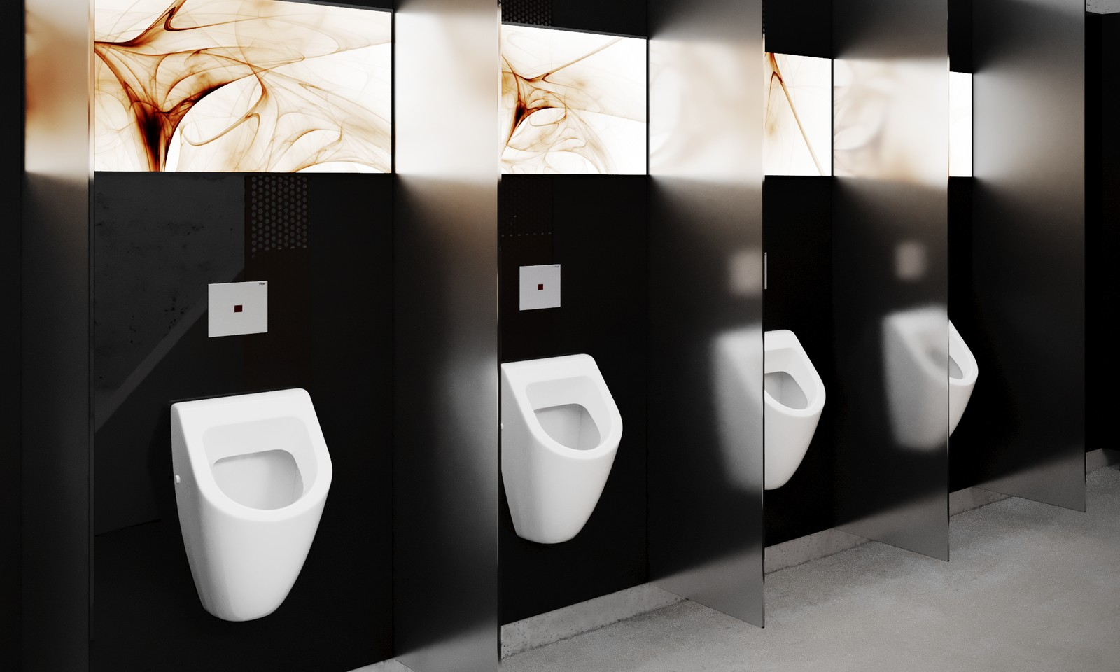 Touch-free urinal flushing technologies from Viega